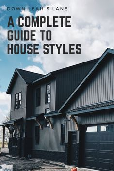 17 amazing house styles to give you a complete guide to finding your house style. Every wonder what your style is? I've compiled 17 traditional, modern, trendy and classic house styles together for you to figure out which is your favorite. I've highlighted key architectural features for craftsman, farmhouse, contemporary, victorian and mid century modern to name a few. I also  included a little history about how these styles came to be and benefits of each type of house.