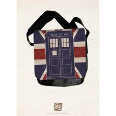 TARDIS Doctor Who - shoulder bag and other apparel, accessories and trends. Browse and shop 21 related looks.