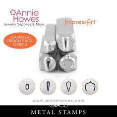 Impressart Metal Stamps - Mandala Stamp Set Series 2