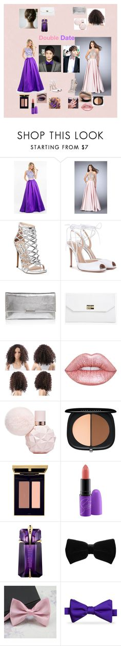"""Double Date with Jonghyun and Minho"" by mimiisabooknerd ❤ liked on Polyvore featuring Rachel Allan, GiGi Designs, Steve Madden, Gianvito Rossi, Loeffler Randall, Boohoo, Lime Crime, Marc Jacobs, Yves Saint Laurent and MAC Cosmetics"