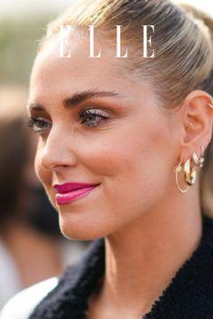 Der 80er-Jahre Glam-Look von Chiara Ferragni ist DER Make-up-Trend an grauen Herbsttagen! So einfach ist der Look für den Herbst 2021 –auf Elle.de! #beauty #haut #hautpflege #skincare
