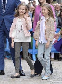 Princess Leonor and Infanta Sofía in 2016
