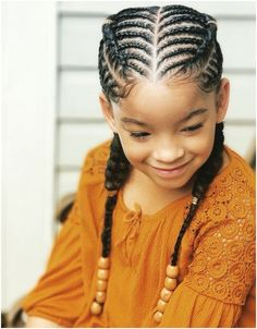 1001 + ideas for braid hairstyles to keep you cool this summer - #easy #hairstyles #black #women #girl #braids easy hairstyles black girl braids Easy Black Girl Hairstyles, Big Box Braids Hairstyles, Kids Braided Hairstyles, Hairstyle Ideas, Short Hairstyles, Little Girl Braids, Braids For Kids, Girls Braids, Braids Easy