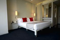 La habitación del Hotel Miró en Bilbao.