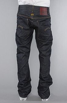 The New Radar Tapered Jeans In Border Wash,Denim For Men      by G-Star
