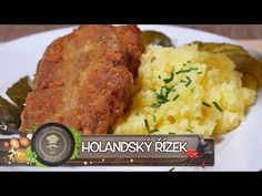 Holandský řízek - Skvělý tip na oběd - YouTube Tandoori Chicken, New Recipes, Mashed Potatoes, Food And Drink, Beef, Ethnic Recipes, Youtube, Ds, Kitchens