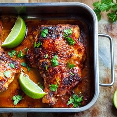 Sophisticated enough for a delicious Sunday supper, yet quick enough for a weeknight dinner, this easy roasted chicken is packed with flavor.