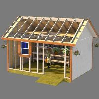 Shed Plans - Shed plans for gable style roof sheds - Now You Can Build ANY Shed . Shed Plans - She 10x10 Shed Plans, Wood Shed Plans, Free Shed Plans, Shed Building Plans, 10x12 Shed, Building Ideas, Small Barn Plans, Diy Storage Shed Plans, Storage Sheds