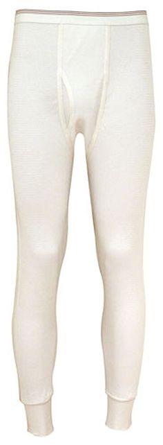 Indera - Mens Big Raschel Knit Thermal Long John Pant, 880DR * Check this awesome image  : Hiking clothes