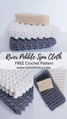 Bobble Crochet, Knit Or Crochet, Crochet Home, Free Crochet, Wash Cloth Crochet Pattern, Crochet Dishcloths Free Patterns, Diy Crochet Gifts, Dishcloth Crochet, Crochet Things