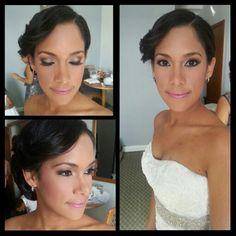 Bride makeup! Simple & Gorgeous!