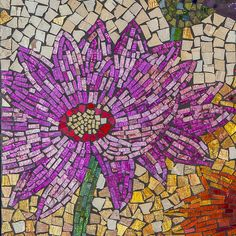 The Blooming Flowers Mosaic Glass Tile Wall Art will add the vibrant colors of summer to any space. Composed of hundreds of small iridescent glass tiles, it is the perfect gift for you or someone who