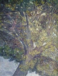 Leonardo da Vinci, Ceiling of Sala delle Asse, 1498 -- Notice the intricate knotting of branches.