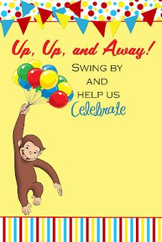Curious George Invitation The Post Fast Lane Appeared First On Paris Disneyland Pictures