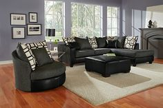 Brio Upholstery Collection | Furniture.com-2 Pc. Sectional $599.99