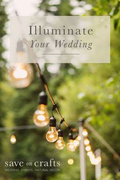Get the best deals out there on event lighting! Find beautiful and inexpensive ways to brighten up your outdoor or indoor venue.