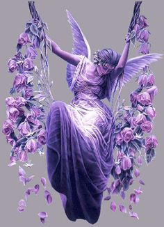 The purple fairy https://fbcdn-sphotos-d-a.akamaihd.net/hphotos-ak-snc6/183734_339202926182372_651431783_n.jpg