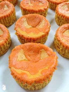 Say cheese with these pumpkin cheesecakes! We've found the spookiest halloween food ideas!