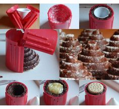 Bakery Recipes, No Bake Cake, Chocolate Fondue, Waffles, Sweets, Baking, Breakfast, Food, Candy