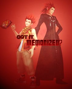Axel's Somebody, Lea, as he appears in Birth by Sleep and Dream Drop Distance.