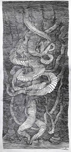 Line art by carl krull