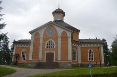 Laukaa Church in Laukaa, Finland