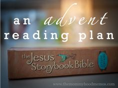 How to teach your children the meaning of Christmas with a free printable reading plan for Advent using the Jesus Storybook Bible.