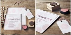 Letterpress wedding invitation card and stamp Letterpress Wedding Invitations, Wedding Invitation Cards, Stamps, Place Card Holders, Graphic Design, Seals, Wedding Invitations, Postage Stamps, Stamp
