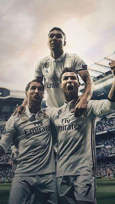 Ramos, Casemiro and Ronaldo