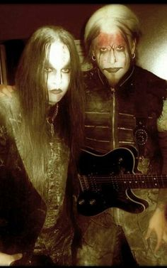 2 of my favorites (Joey Jordison - John 5 @ Rob zombie Tour)