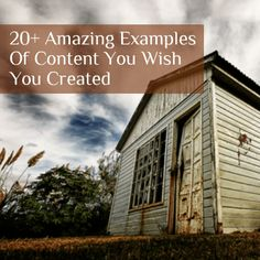 What do you think of when you see a great piece of #content? Don't you wish you created one?  #Marketing