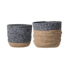 2-Pc. Shorebird Seagrass Baskets