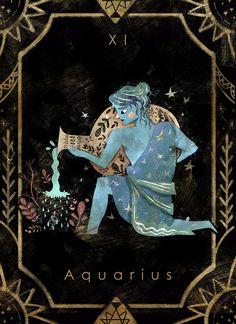 Illustration of the 12 Zodiac sign base on their origin story. Constellation Art, Constellations, Tarot, Aquarius Art, Aerial Costume, Astrology Stars, Zodiac Art, Zodiac Mind, Star Illustration