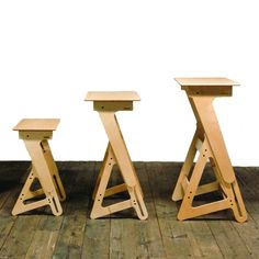 Adjustable Standing Desk for Teenagers by Jaswig - Laptop Stand with Ergonomic Footrest 100 % Made in the USA from Sustainable Materials