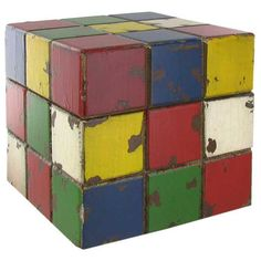 Large Rube Cube Box