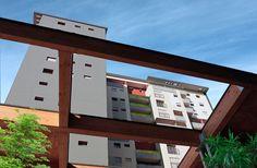 """Nell'inconfondibile contesto urbanistico della Bicocca, CMB propone abitazioni di grande pregio, circondate da un'ampia area verde e certificate in classe energetica """"A"""", per garantire sicurezza, confort e risparmio."""