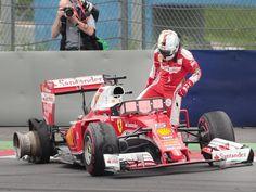 Vettel: Tyre suddenly exploded