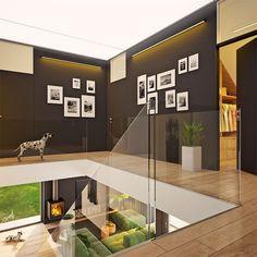 Modny III - dom parterowy z poddaszem użytkowym i garażem   doomo Barn House Plans, Architect House, Prefab Homes, Next At Home, Garage, Construction, House Design, How To Plan, Interior Design
