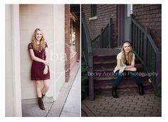 Senior girl - Becky Anderson Photography