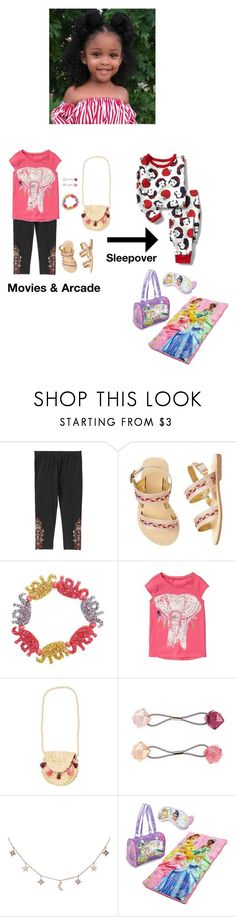 """""""Elite cheering Bonding Event"""" by taylorfam89 ❤ liked on Polyvore featuring Gymboree, Luna Skye and Disney"""