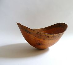 Hand Turned Wood Bowl by Margaret Lupino