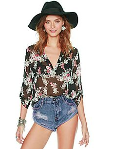 BLINX Women's Vintage/Sexy/Beach/Party/Work Long Sleeve Casual Shirts (Chiffon). Get awesome discounts up to 80% Off at Light in the Box using Coupon and Promo Codes.