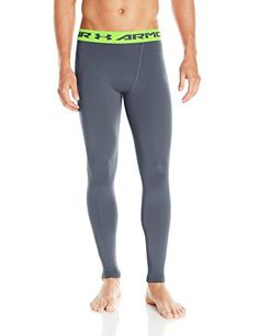 Under Armour Men's HG Compression Leggings   Under Armour Men's HG Compression Leggings Armour is the first thing you put on and the last thing you take off, every time you workout or compete. HeatGear fabric, with all the benefits of UA compression, comfortable enough to be worn all day. Upf 30+ protects your skin from the sun's harmful rays. 4-Way stretch fabrication allows greater mobility in any direction. Moisture transport system wicks sweat and dries fast. Anti-odor technology..