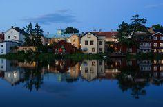 Old town in Eskilstuna, Sweden