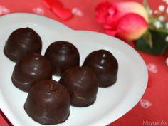 Cioccolatini ripieni, scopri la ricetta: http://www.misya.info/2013/02/14/cioccolatini-ripieni.htm