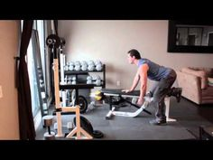 Dumbbell Back Exercises - One Arm Row Dumbbell Workout Routine, One Arm Row, Fitness Goals, Fitness Motivation, Back Exercises, Dumbbell Exercises, Build Muscle, Muscle Building, Back Muscles