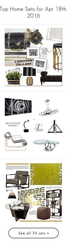 """""""Top Home Sets for Apr 18th, 2016"""" by polyvore ❤ liked on Polyvore featuring interior, interiors, interior design, home, home decor, interior decorating, Karl Lagerfeld, H&M, Home and polyvoreeditorial"""