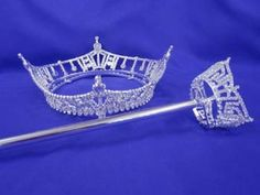 Miss America Crown & Scepter replica