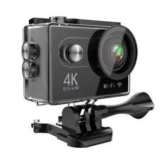 Hiearcool H9 Action Camera 4K Ultra HD 12MP WIFI Sport Cam Waterproof  Underwater 30M Dual 2inch LCD display 170° Wide Angle Lens 25 Accessories  Kits     ... 2f3133b71f5c