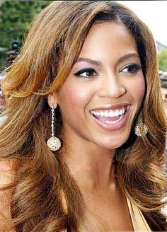Custom Beyonce Hair Style Long Wavy Hand Tied Full Lace 100% Human Hair Wig